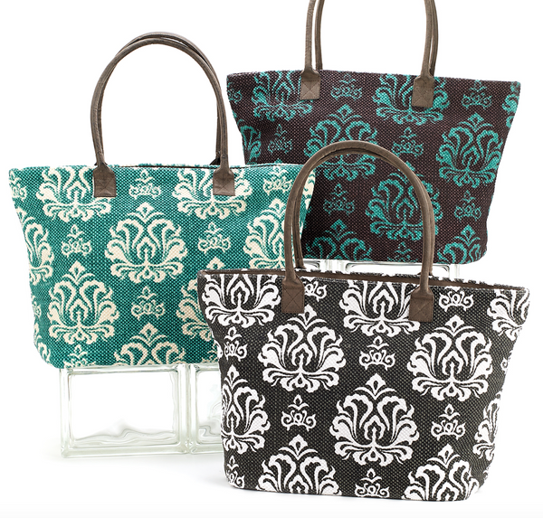 Indian Dhurrie Tote Bags
