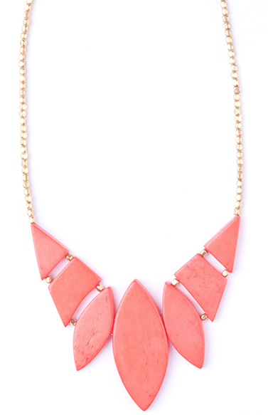 Indra Necklace Coral