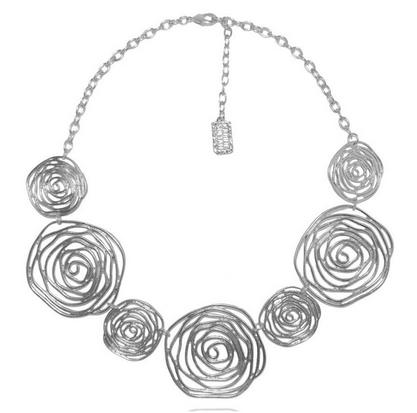 Julie Necklace in Silver