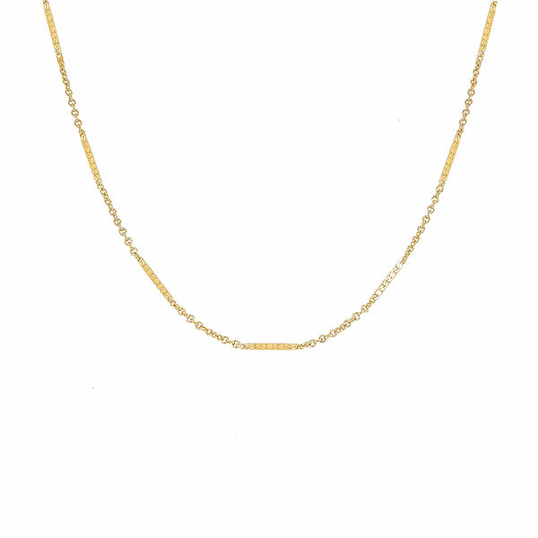 Necklace - Kendal Shorty Necklace Gold-Filled - Girl Intuitive - Mod + Jo -