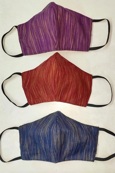 Khadi Cotton Face Masks Set of 3
