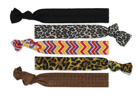 Knotted Hair Ties - Tribal