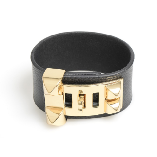 Leather Latch Bracelet