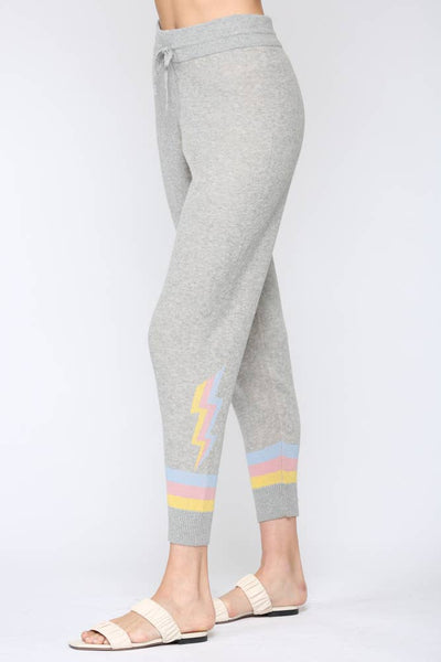 Lighting Bolt Knitted Pants