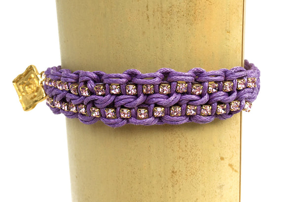 Lindsey Friendship Bracelet in Purple
