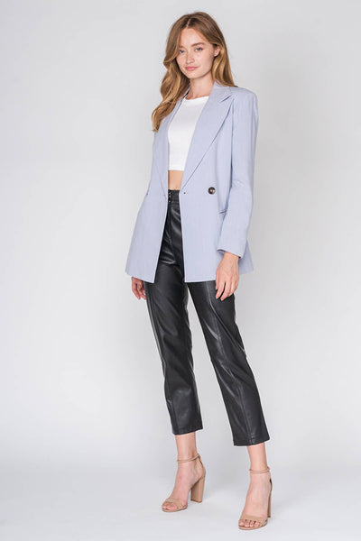 Jacket - Double Breasted Blazer - Girl Intuitive - Fore Collection - S / Blue