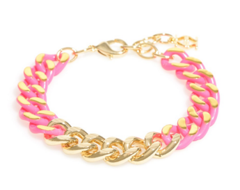 Links In Color Bracelet Assorted