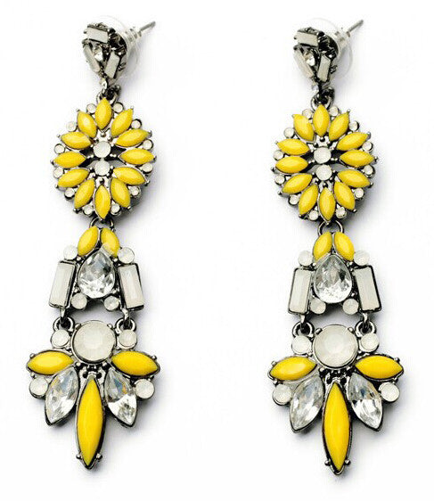 Aztec Yellow Drops - Girl Intuitive