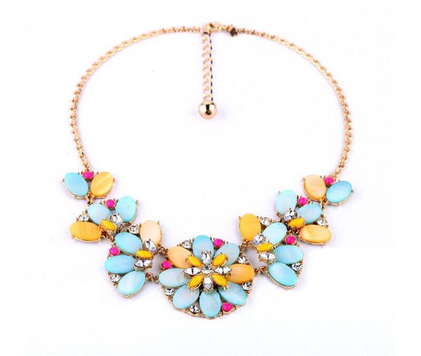 Bungalow Bouquet Statement Necklace