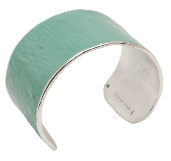 Matte Cuff Covered Enamel green
