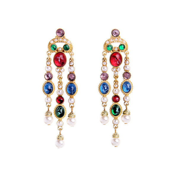 Multi Barocco Statement Earrings