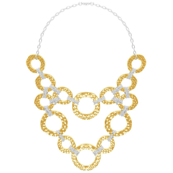 Naelle Two Tone Necklace