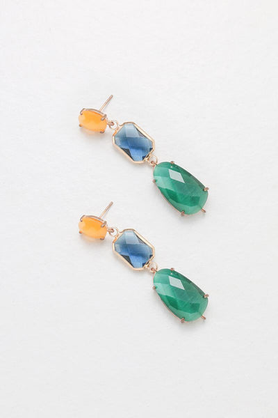 Nakamol Multi-Stone Drop Earrings