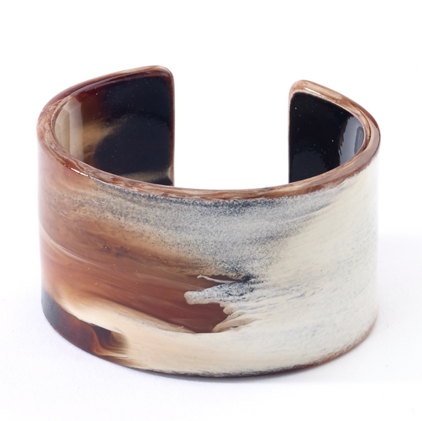 Natural Cuff Bracelets Brown