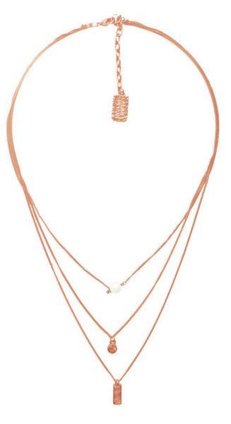 Delicate Pendant Layered Long Necklace