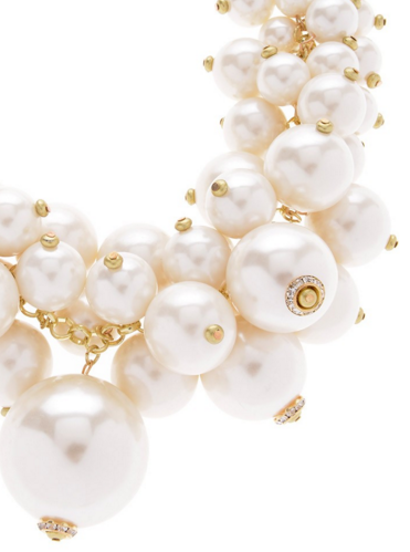 Pillow of Pearls Statement Necklace