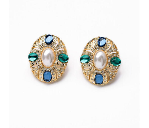 Royale Clip-On Earrings