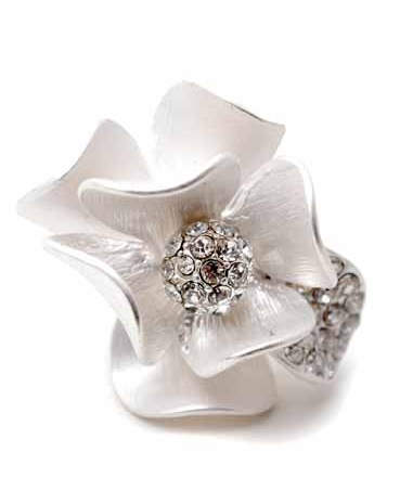 Ring - Steel Magnolias Ring - Girl Intuitive - Zenzii -
