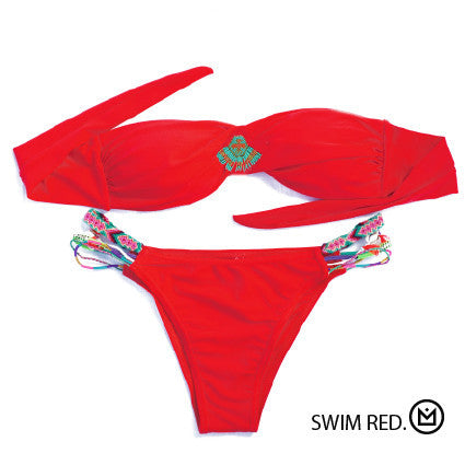 Amenapih Red Swimsuit - Girl Intuitive