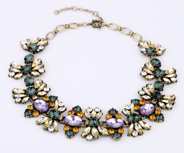 Vintage Glam Statement Necklace