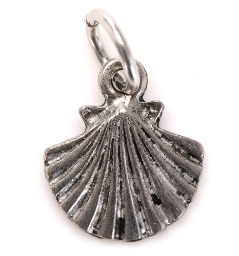 shell charm silver