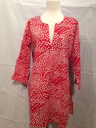 Tunic Top Red