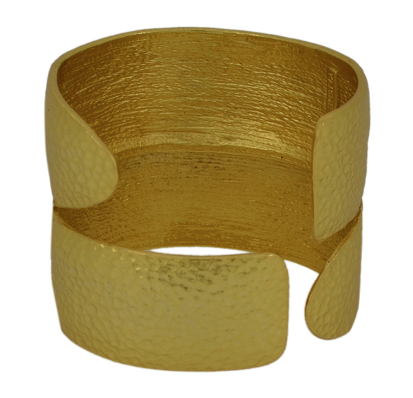 Open Top Asymmetrical Cuff