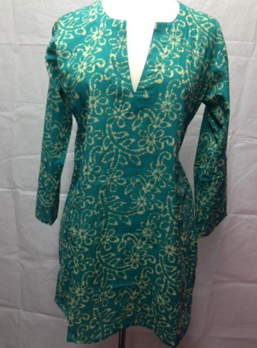 Tunic Emerald Green