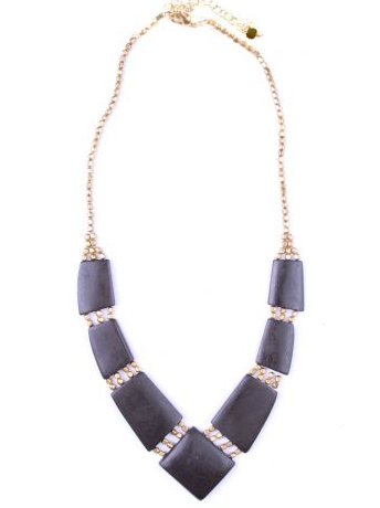 Archer Necklace Black - Girl Intuitive