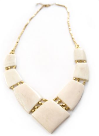 Archer Necklace White - Girl Intuitive