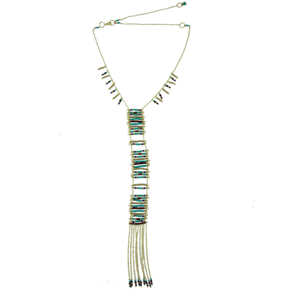 Sea and Earth Ladder Necklace