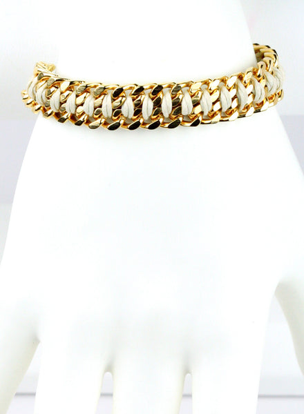 Handwoven Gold Chain
