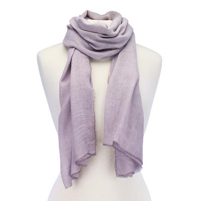 Soft Solid Scarf purple