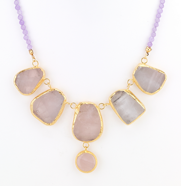 Stepping Agate Stone Necklace