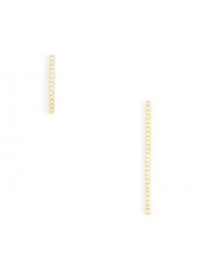 Straight and Narrow Asymmetrical Earrings