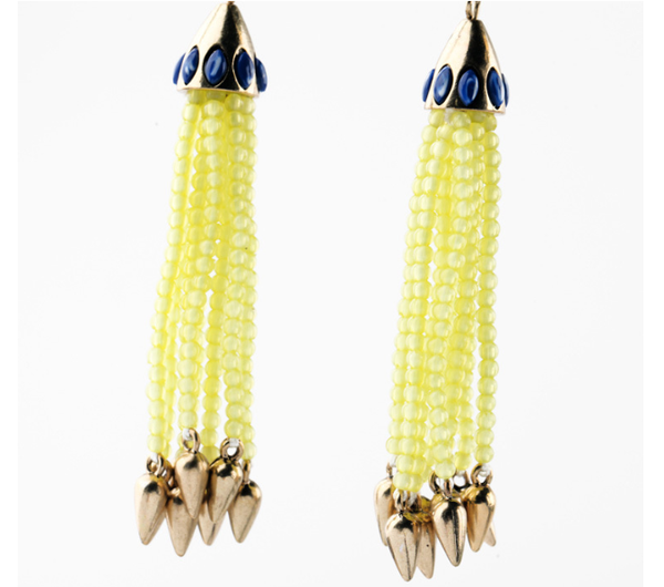 Tassel Glam Drop Earrings