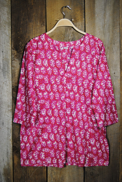 Tunic in Fuschia