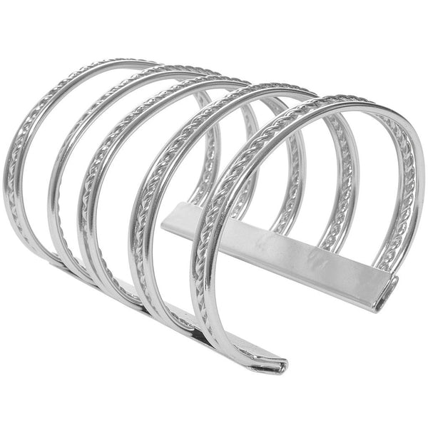 Twisted Large Cuff silver