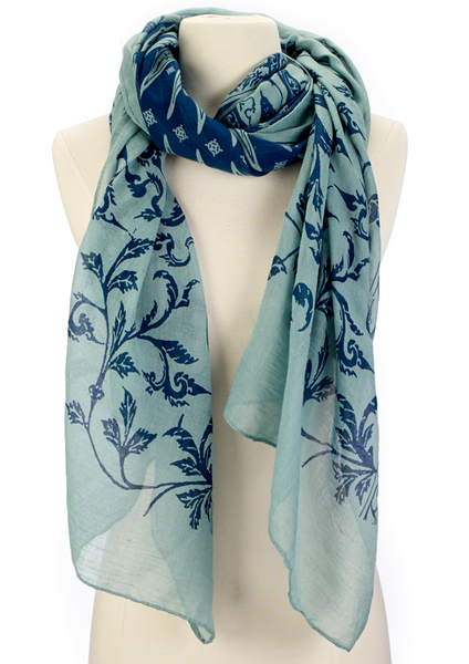 Vine On A Scarf green