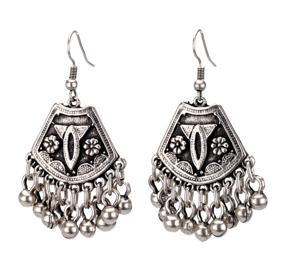 Vintage Turkish Ball Drop Earrings