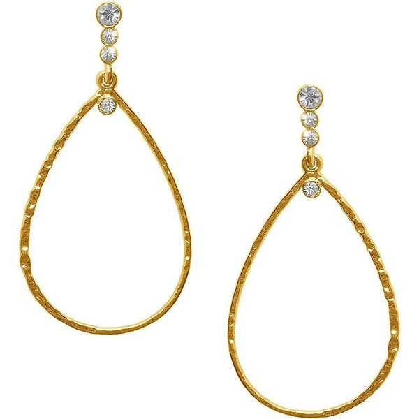 Virginie Earrings gold