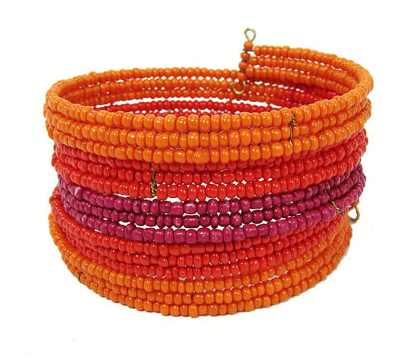 Winding Wrap Bracelet - Sunset