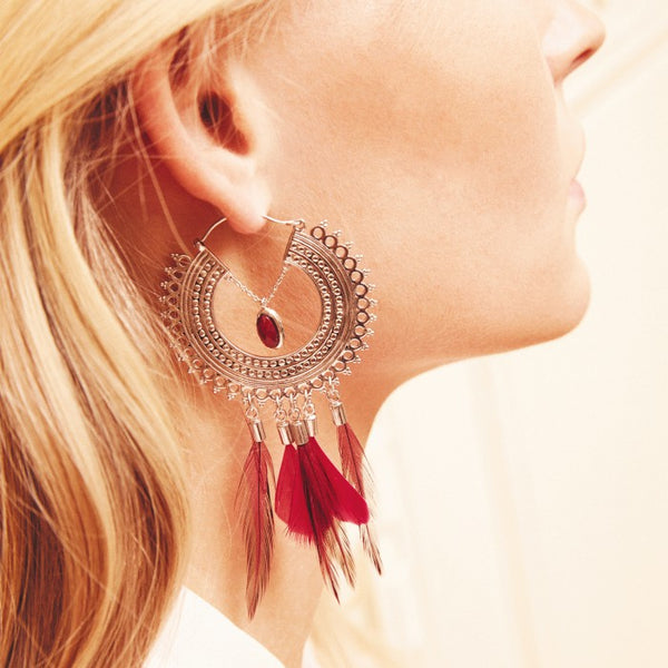 Hipanema Adore Earrings silver