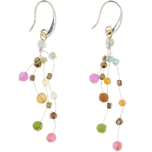 Akha Floating Earrings in Celebration