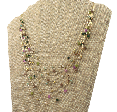 Akha Necklace Pink - Girl Intuitive