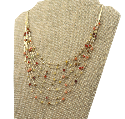 Akha Necklace - Red - Girl Intuitive