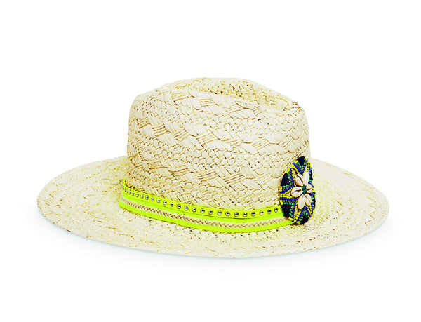 Amenapih Cruise Blue Women's Straw Hat