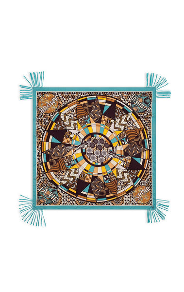 Amenapih Wax Blue Scarf