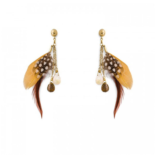 Hipanema Anita Ocre Earrings