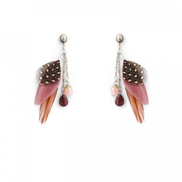 Hipanema Anita Pink Earrings